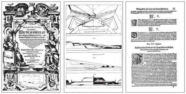 Speckle Daniel: Architectura von Vestungen, 1589
