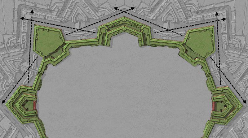 Bastiony s otevřeným kavalírem « Pevnost Terezín – populárně-naučný web c02cba1c7d