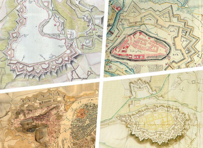 Bastionová opevnění českých měst