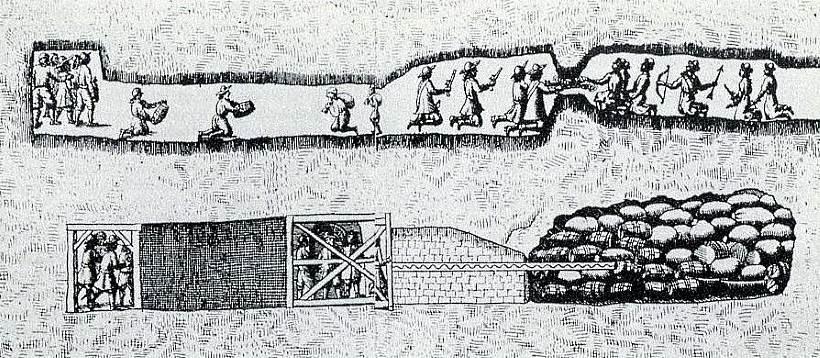 Podzemní boje u Vídně 1683
