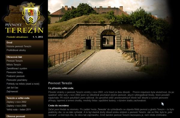 Vzhled webu Romana Gazsiho