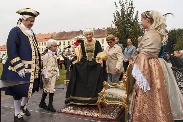 Josefínské slavnosti 2014 - Marie Terezie