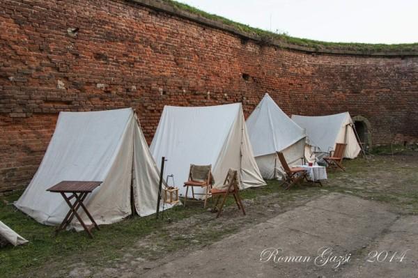 Josefínské slavnosti 2014 - vojenský tábor