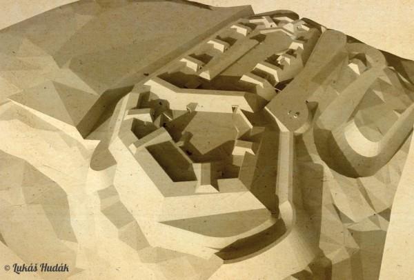 Vizualizace fortu Křemín