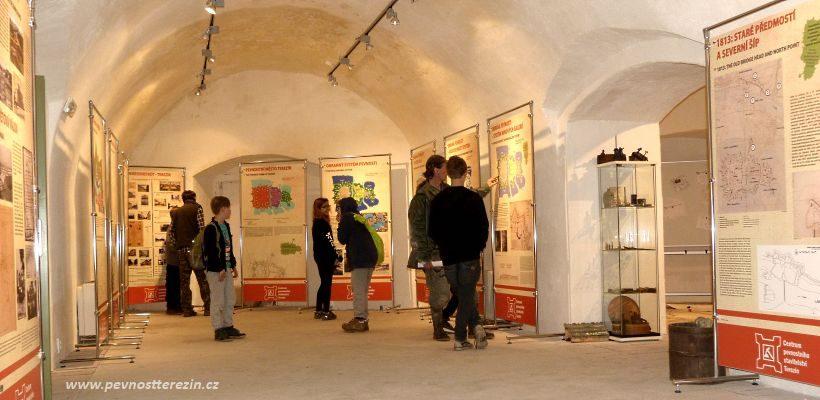 Expozice Centra pevnostniho stavitelstvi