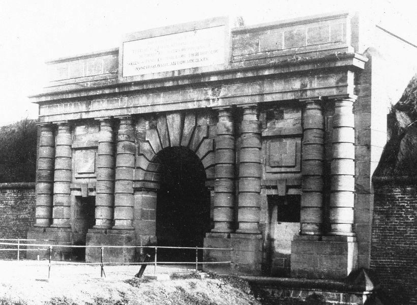 Litoměřická brána (historické foto)