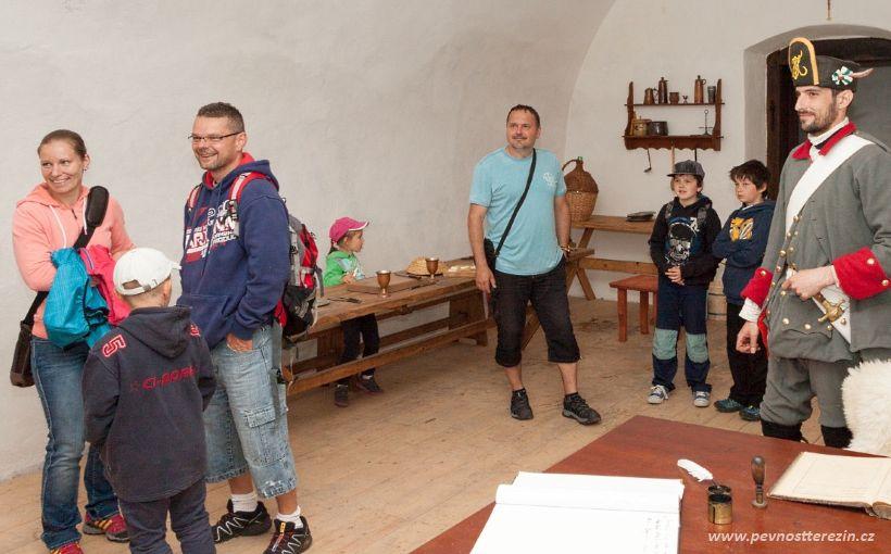 Návštěvníci u sapérů na strážnici