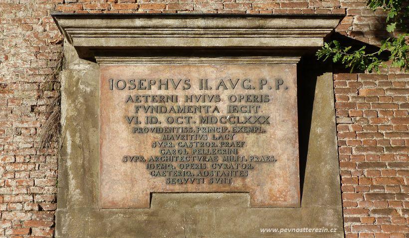 Základní kámen pevnosti Terezín